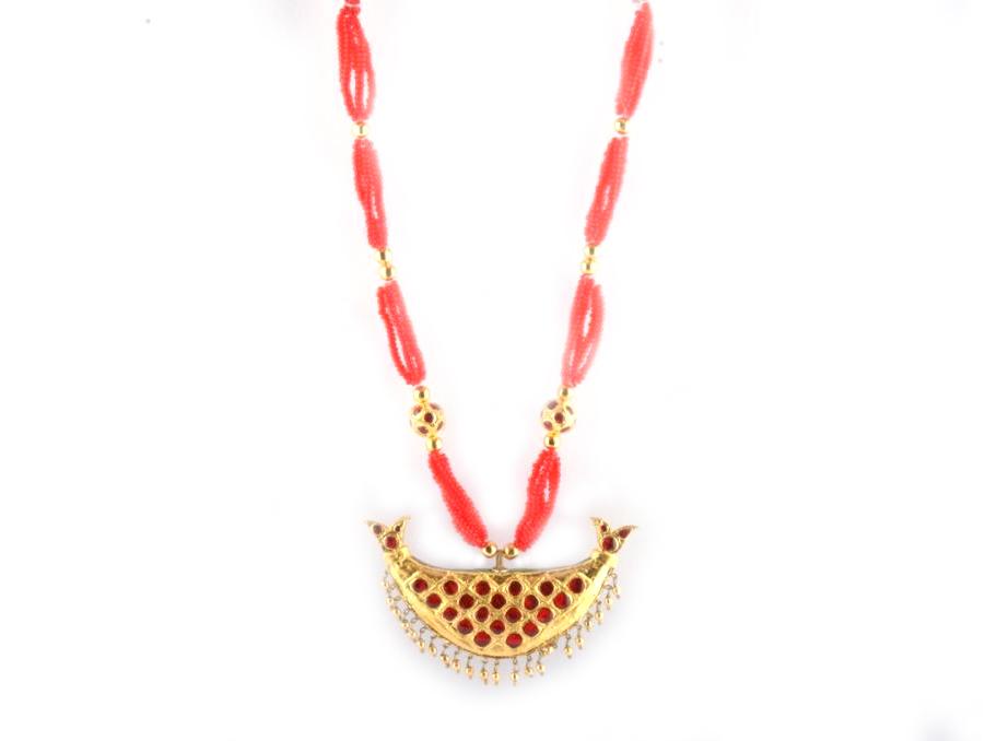 Gorgeous Assamese Jewellery, Junbiri (Regular Size)(#216)-gallery-1