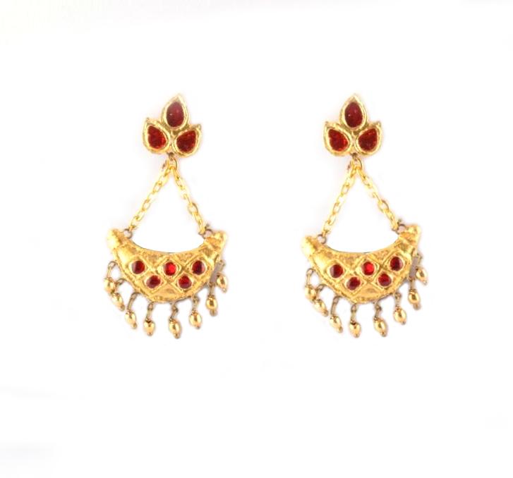 Gorgeous Assamese Jewellery, Junbiri (Regular Size)(#216)-gallery-2