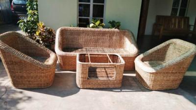 Cane Sofa set Design 20(#2163)-gallery-0