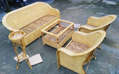 Cane Sofa set Design 23(#2166)-gallery-0