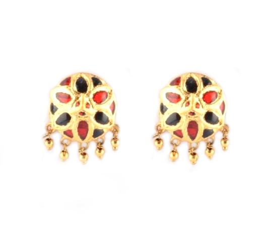 'Jaapi' Designer Jewellery Set from Assam(#221)-gallery-2