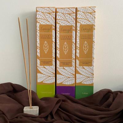 Esscent Incense Sticks ( lemongrass lavender and loban)(#2211)-gallery-0
