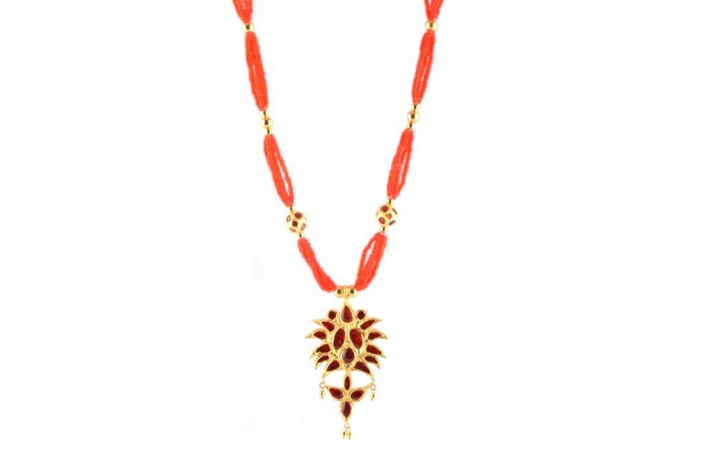 'Jethipata' Assamese Jewellery Set(#223)-gallery-1