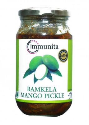 Immunita Ramkela Mango Pickle 350gm Homemade Quality(#2269)-gallery-0