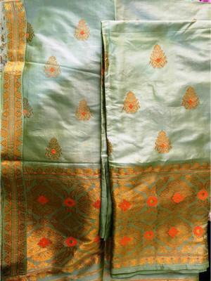 Assamese Paat Chador Mekhela Style 3(#2308)-gallery-0