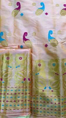 Assamese Paat Chador Mekhela Style 5(#2310)-gallery-0