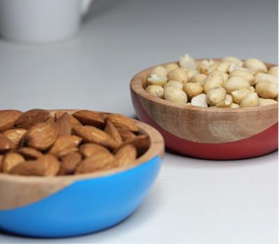 Daivik Wooden Bowls in Mango Wood(#2324)-gallery-0