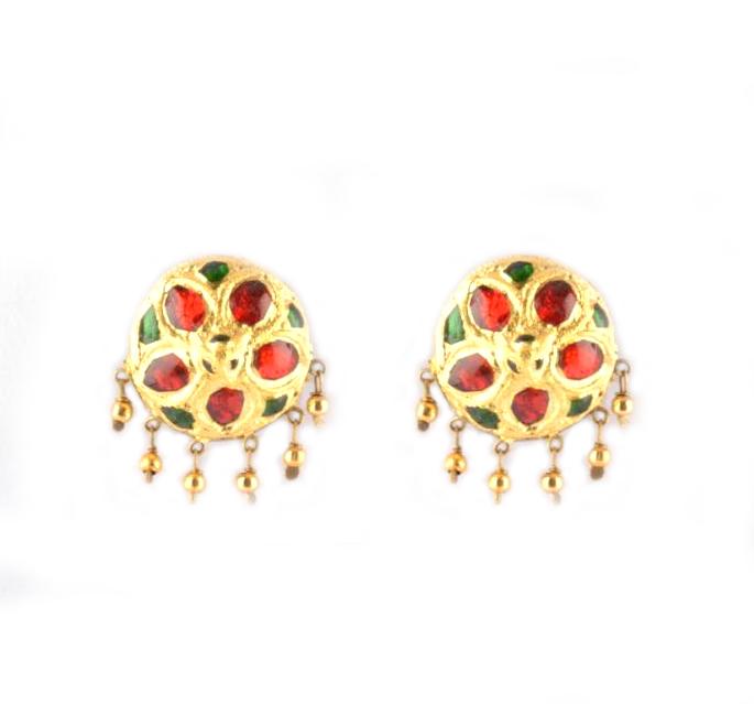 'Jaapi Golpata' Assamese Jewellery for Women(#235)-gallery-1