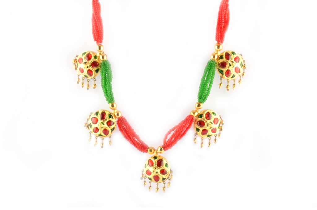 'Jaapi Golpata' Assamese Jewellery for Women(#235)-gallery-2