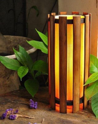 Bamboo Lamp(#238)-gallery-0