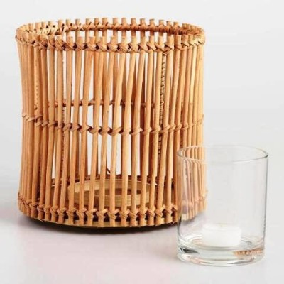 Bamboo Candle Holder Pattern 1(#2386)-gallery-0