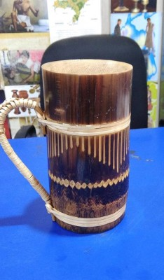 Bamboo Designer Mug(#2402)-gallery-0