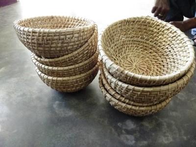 Cane Round Bowl(#2410)-gallery-0