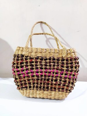 Water Hyacinth designer Bag(#2413)-gallery-0