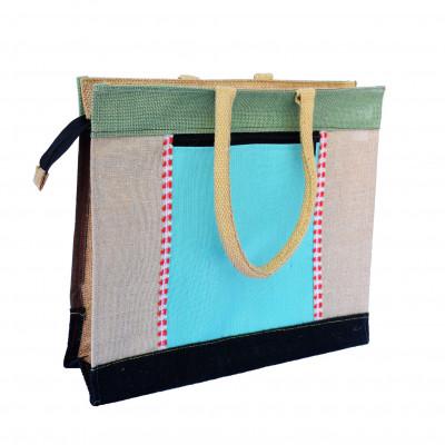 Jute Handbag(#242)-gallery-0