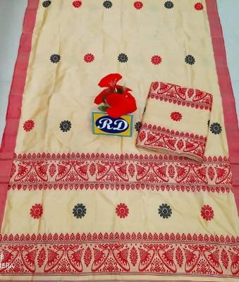 Assamese Mekhela Chadar Mix toss Riha Jura Style 11(#2439)-gallery-0