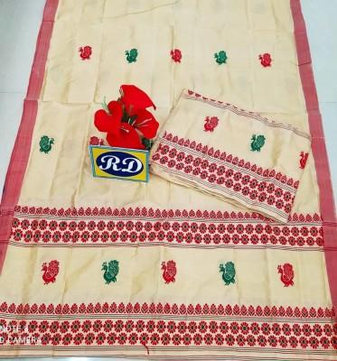 Assamese Mekhela Chadar Mix toss Riha Jura Style 14(#2442)-gallery-0