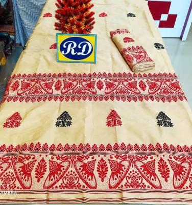 Assamese Mekhela Chadar Mix toss Riha Jura Style 15(#2443)-gallery-0