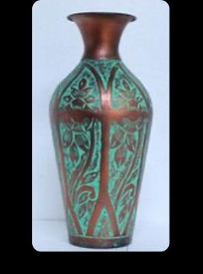 Metallic Decor Vase(#2479)-gallery-0