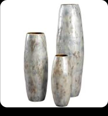 Metallic Decor Vase(#2491)-gallery-0