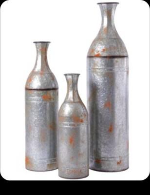 Metallic Decor Vase(#2492)-gallery-0