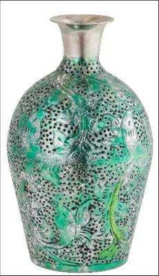Metallic Decor Vase(#2500)-gallery-0