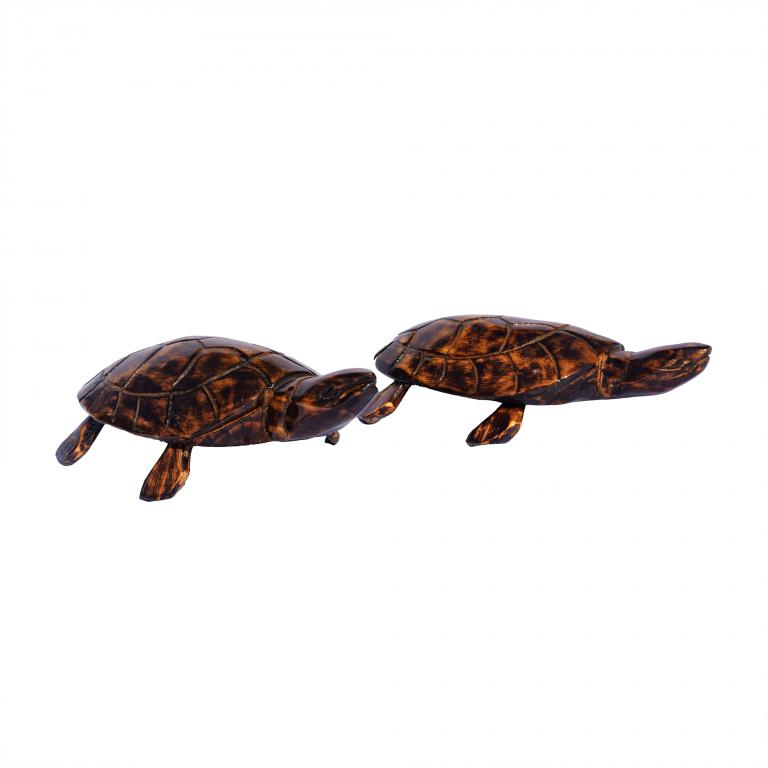 Wooden Tortoise(small)(#255)-gallery-1