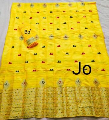 Mix Paat Assamese Mekhela Chador Style Mj 8(#2552)-gallery-0