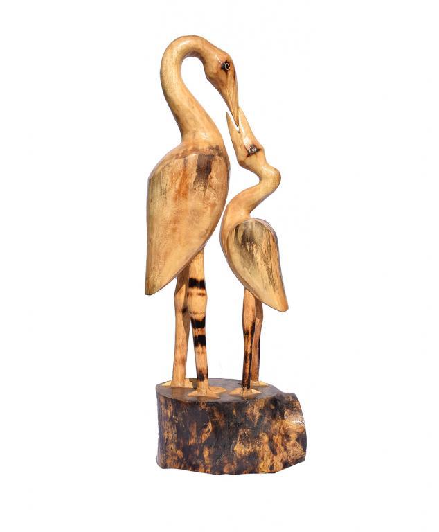 Feng Shui Wooden Crane(#257)-gallery-0