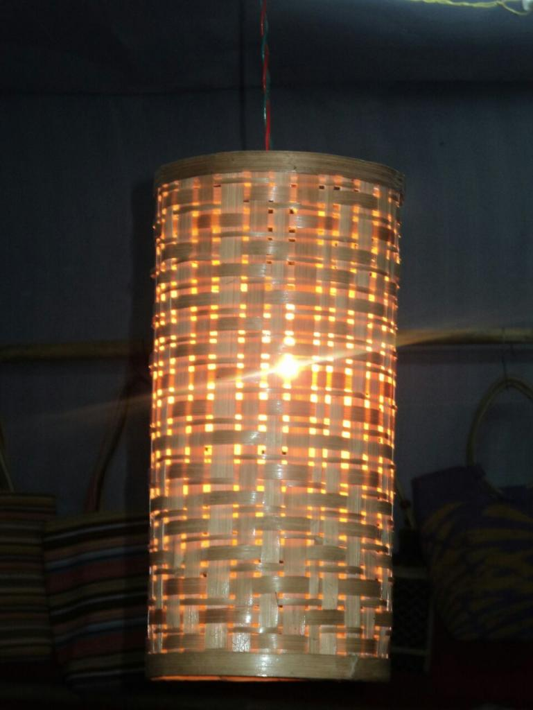 Bamboo Lamp(#348)-gallery-0