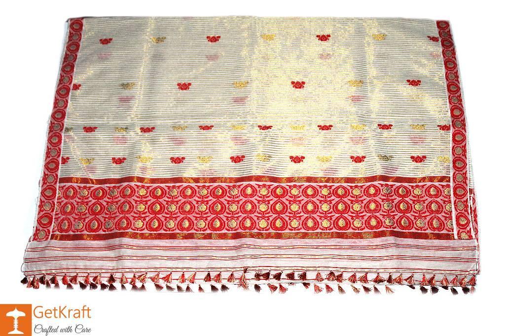 Assamese Mekhela Chador(#356)-gallery-0