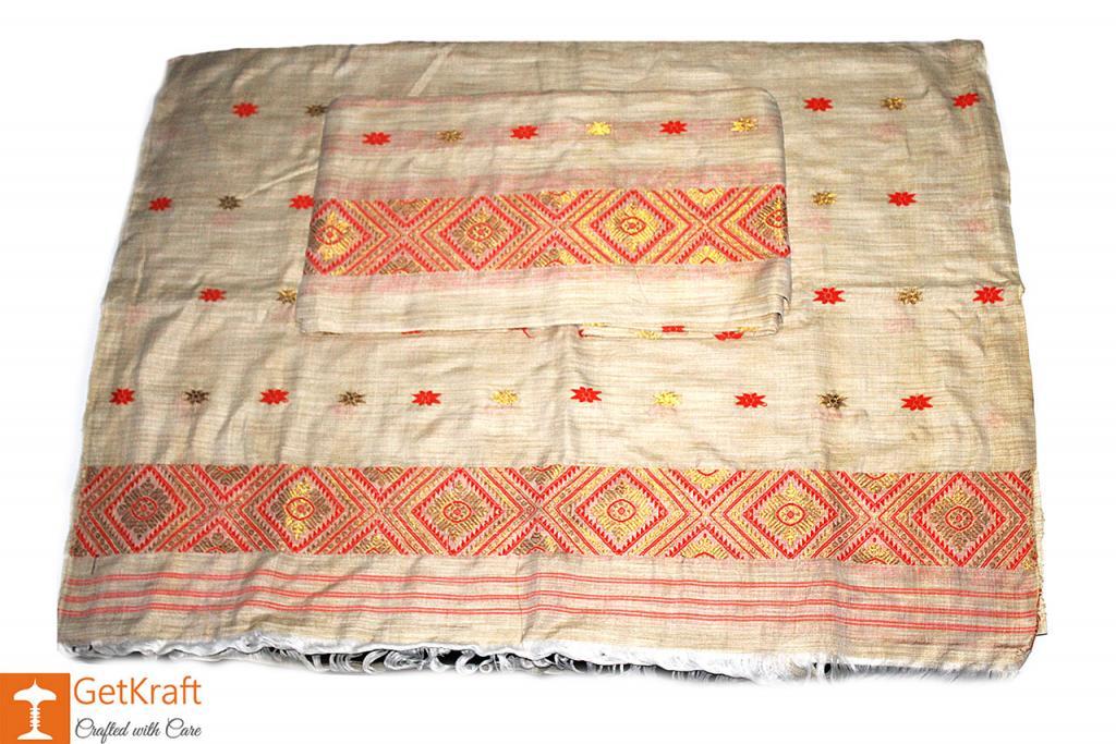 Assamese Mekhela Chador(#357)-gallery-1