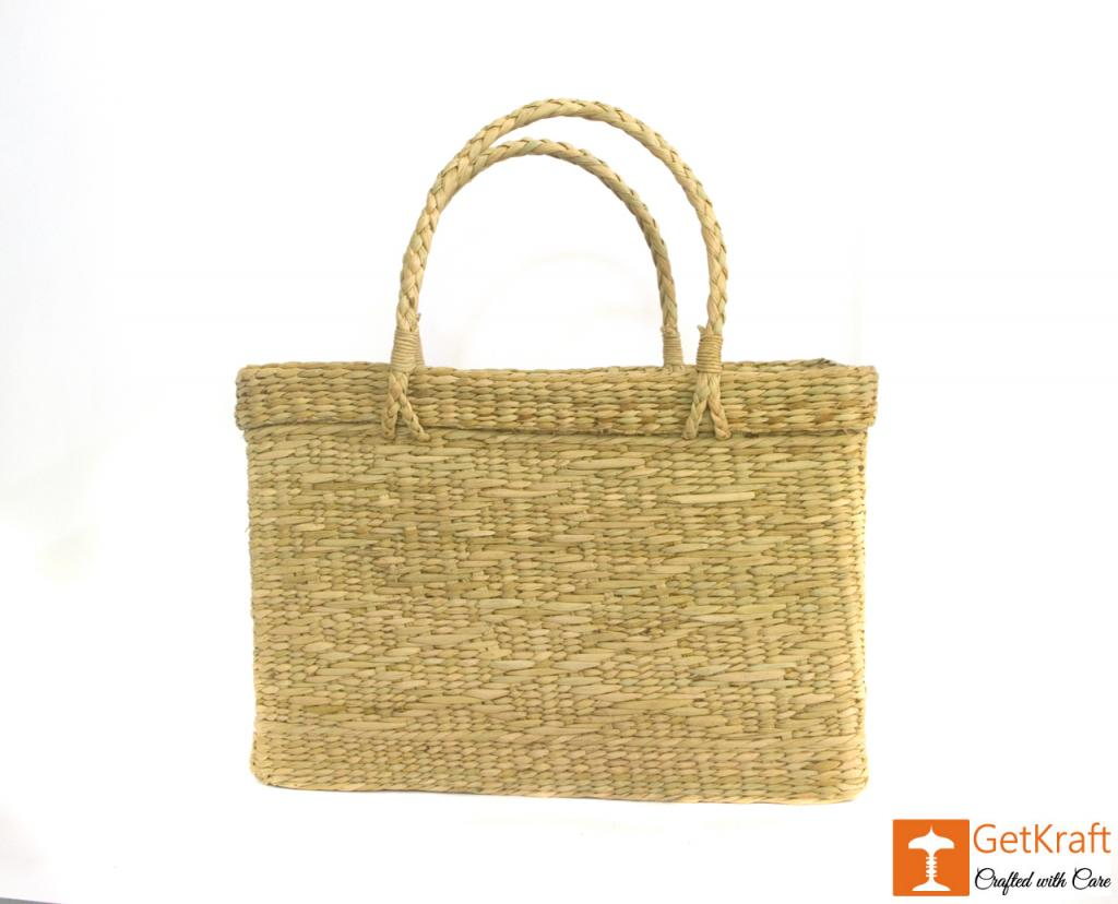 Natural Straw Beach Bag(#384)-gallery-2