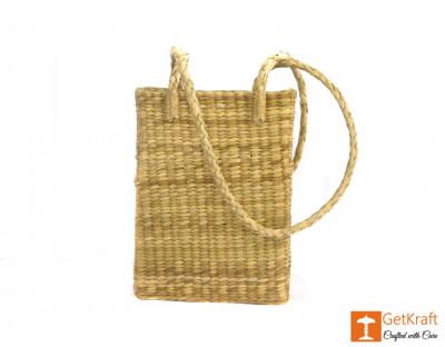 Natural Straw Long Handle Shopping Handbag(#385)-gallery-0