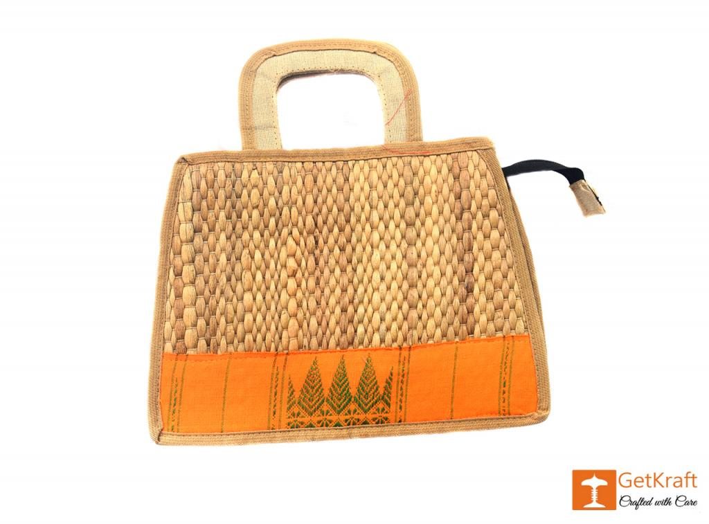 Water Hyacinth Handbag(#398)-gallery-0