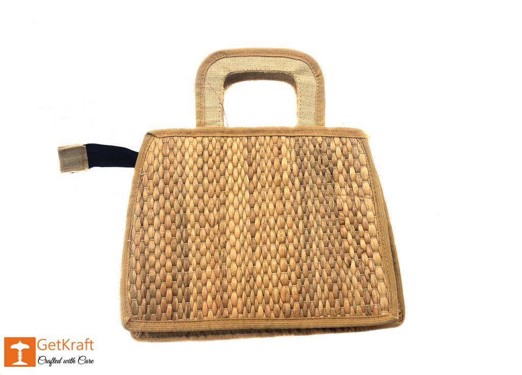 Water Hyacinth Handbag(#398)-gallery-1