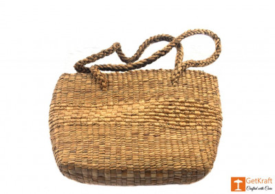 Natural Straw Hobo Bag(#401)-gallery-0