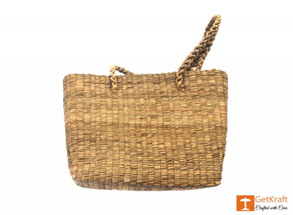 Natural Straw Bag (Large)(#402)-gallery-3