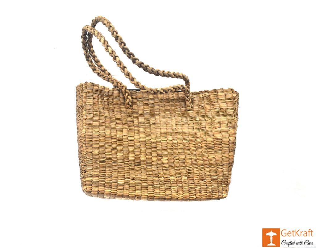 Water Hyacinth bag (large)(#402)-gallery-4