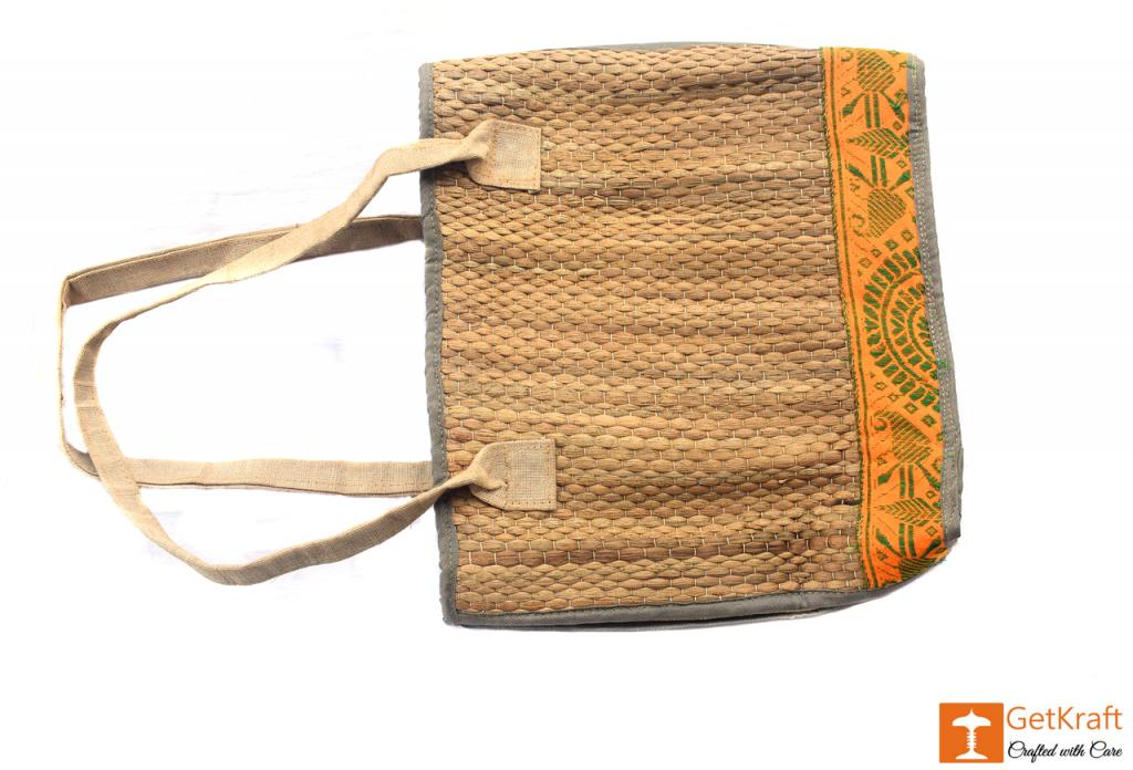 Natural Straw Handbag(#403)-gallery-0