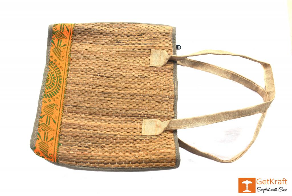 Natural Straw Handbag(#403)-gallery-1