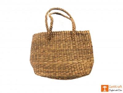 Natural Straw Shopping bag(#404)-gallery-0