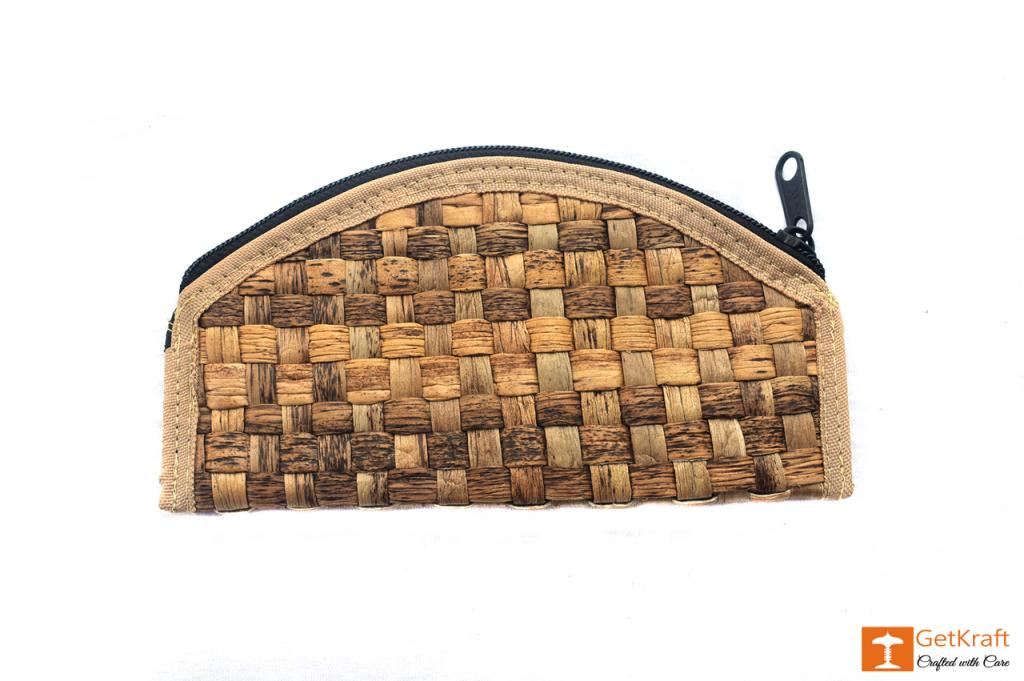 Natural Straw Handmade Clutch(#410)-gallery-1