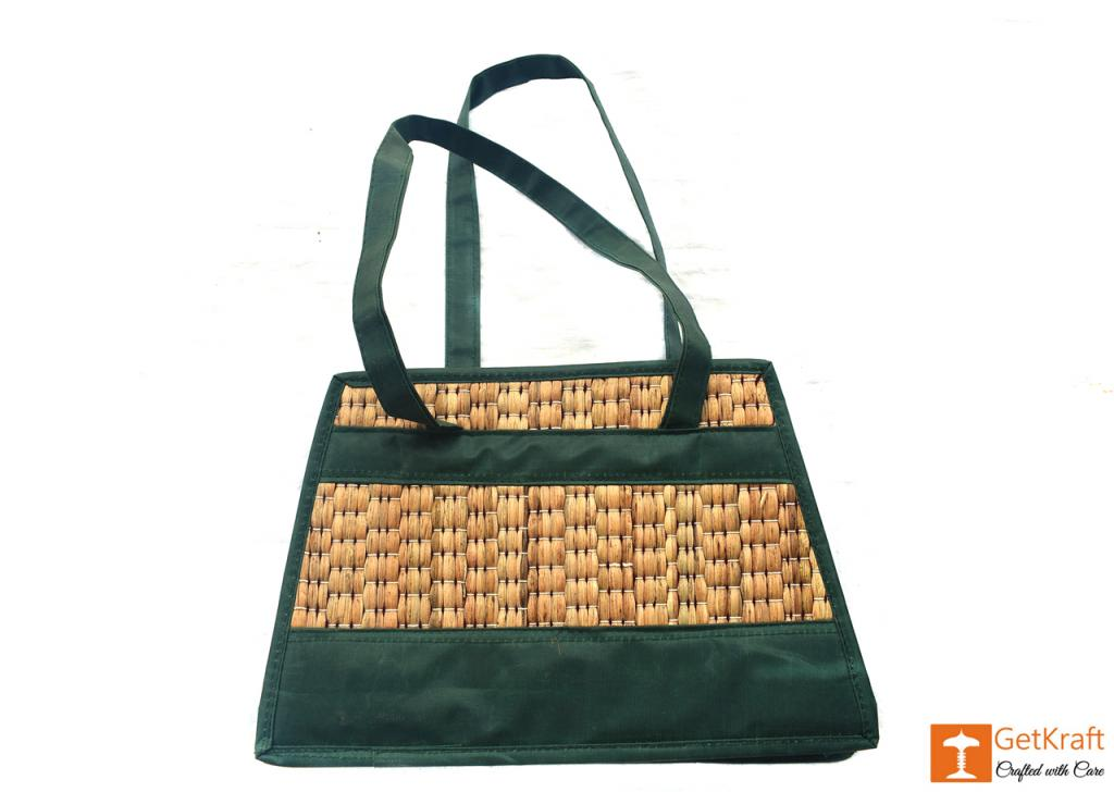 Water Hyacinth Handbag(#415)-gallery-0