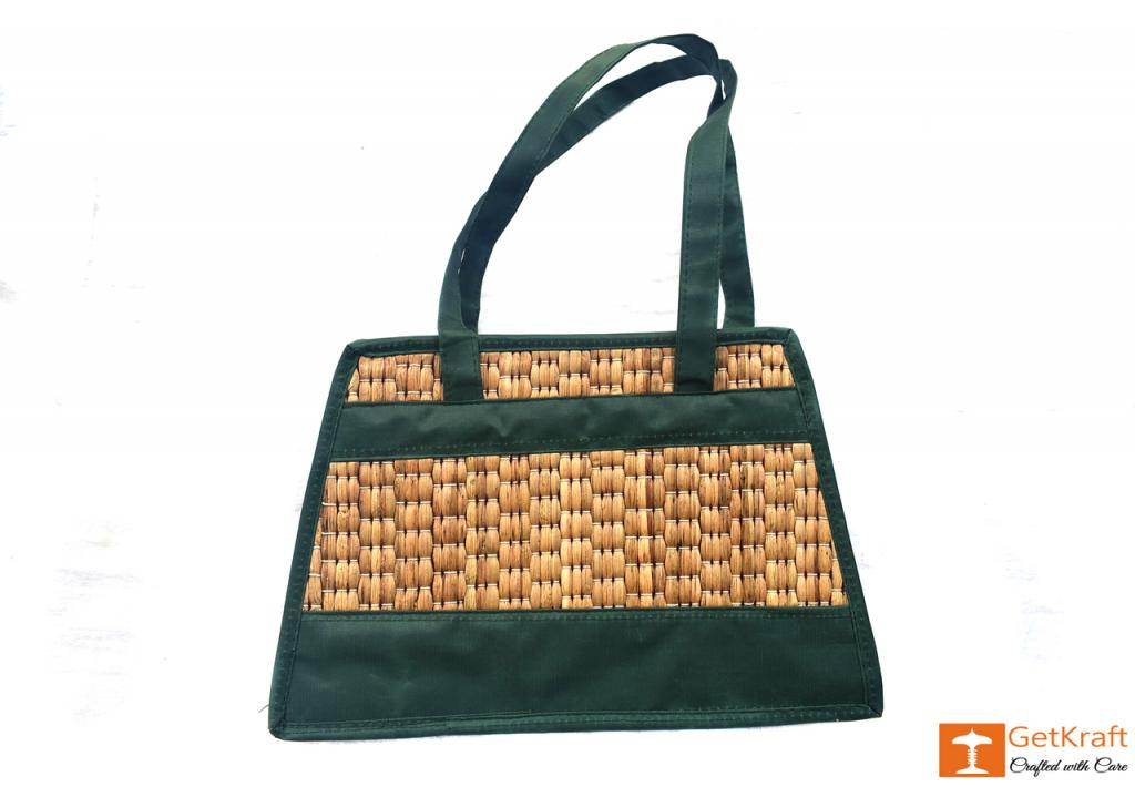 Water Hyacinth Handbag(#415)-gallery-1