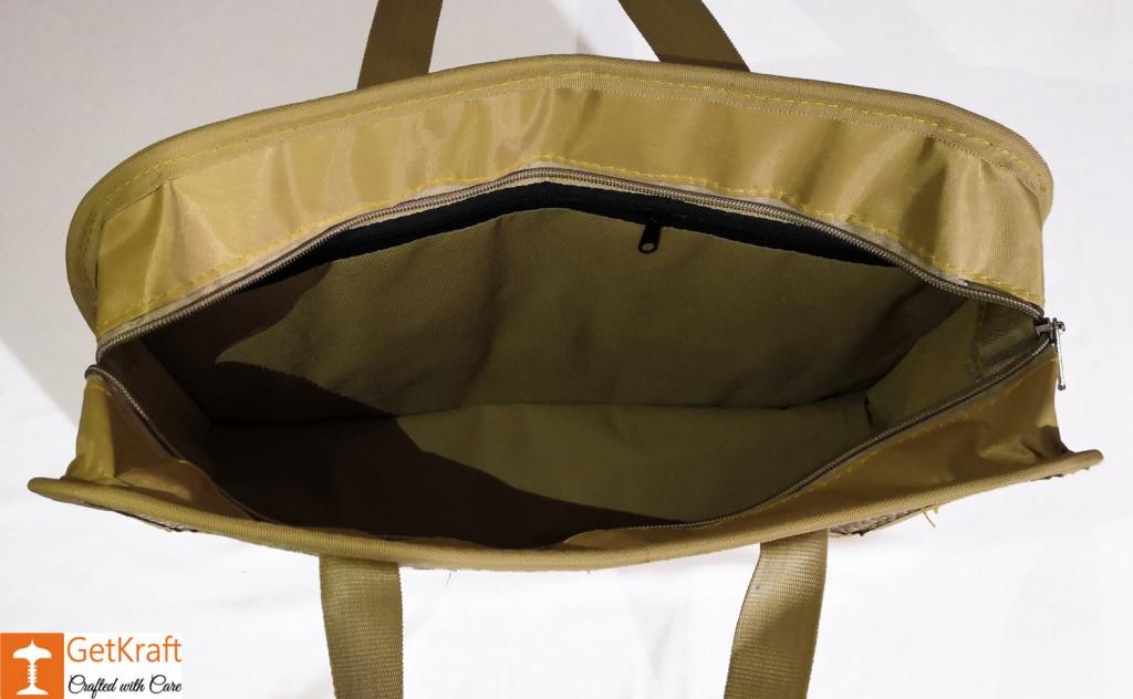 Water Hyacinth Designer Bowler Bag(#421)-gallery-2