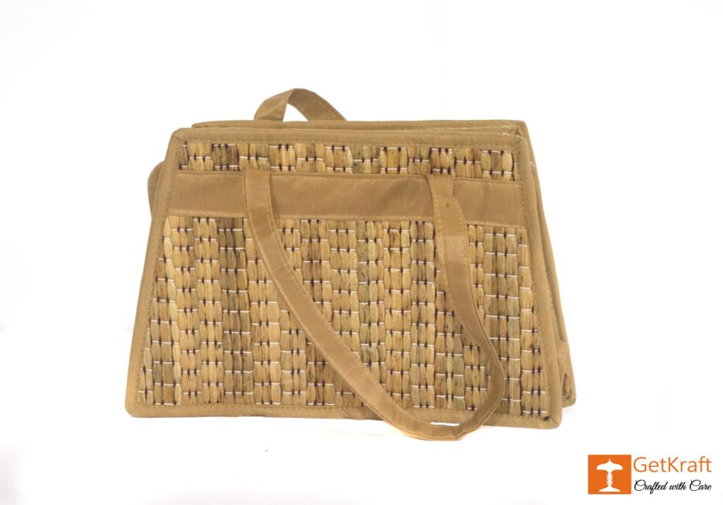 Water Hyacinth Medium-sized Hand Bag(#431)-gallery-0