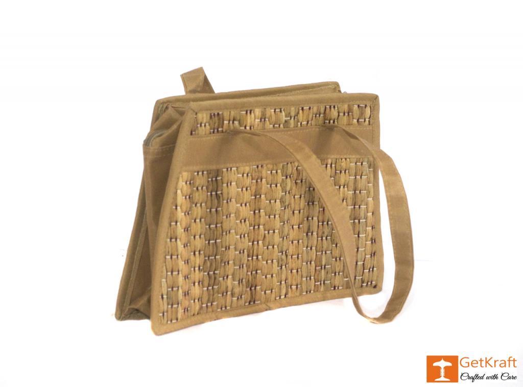 Water Hyacinth Medium-sized Hand Bag(#431)-gallery-1