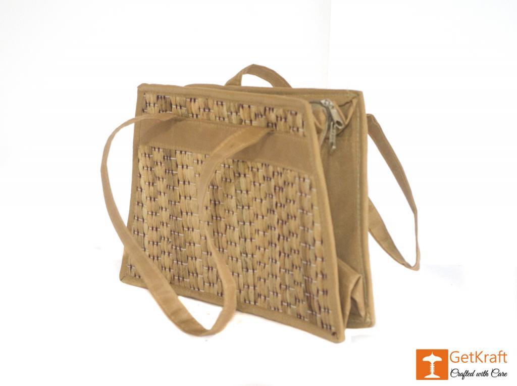 Water Hyacinth Medium-sized Hand Bag(#431)-gallery-2