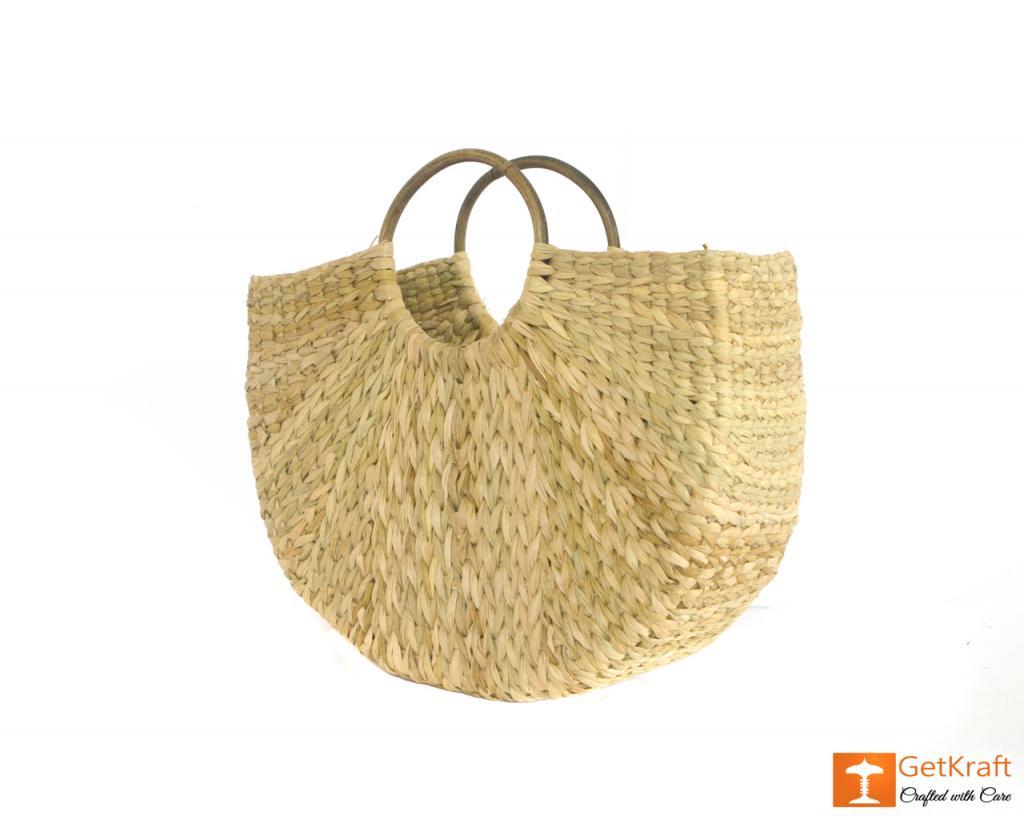 Natural Straw Handmade Bag(#432)-gallery-2